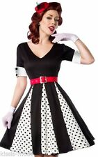 Damenkleider aus Polyester mit Retro in Übergröße