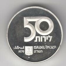 ISRAEL 1979 31st ANNIVERSARY MOTHER OF CHILDREN PROOF COIN 20g SILVER #6