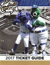 Omaha Storm Chasers--2017 Ticket Guide Booklet/Schedule--KC Royals