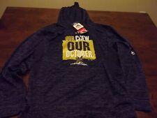 Milwaukee Brewers NEW mens Majestic medium hoodie sweatshirt MLB