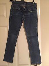 Miss Selfridge Petites Size 6 Denim Jeans Button And Zip Fasten