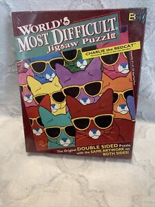 World's Most Difficult Puzzle Charlie The Redcat Double Sided New 500+ Pieces