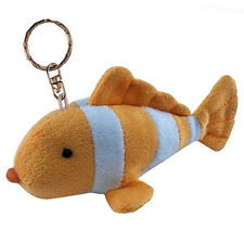 Clown Fish Plush Keychain NEW Toys Soft Stuffed Plushie Keyring Puzzled Inc