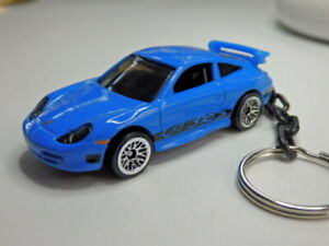 Hot Wheels Porsche Fast and Furious GT3 911 RS Keychain Keyring