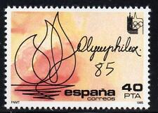 España estampillada sin montar o nunca montada Exposición Filatélica Internacional 1985 SG2795 OLYMPHILEX'85, Lausan