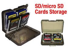 64GB 8GB 16GB 32GB 128GB 256GB SD Case micro SD Storage Box Memory cards microS