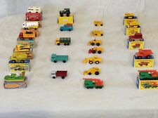 Early 60s to early 70s Matchbox vehicles