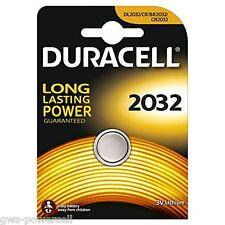2 x Duracell Batterie CR2032 Lithium 3V Knopfbatterie CR 2032 NEU OVP