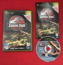 Jurassic Park Operation Genesis - Original XBOX - PAL - Tested