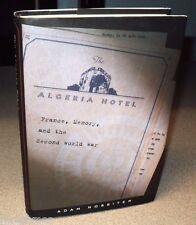 Algeria Hotel France Memory Second World War by Nossiter hc 2001 Collaboration