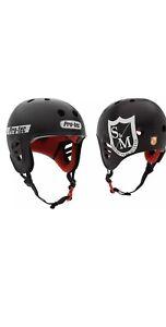S&M ProTec Full Cut Certified Helmet - Black- Medium - BMX - Skate - Bicycle