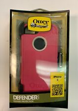 Authentic Otter Box Defender Series Phone Case for iPhone 5, Hot Pink