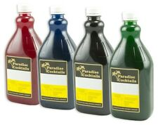 4 X 2L Paradise Slushie Slurpee Daiquiri Granita Syrup Mix Slush Machine Syrups