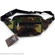 Camouflage Fanny Pack - 5 Pockets!