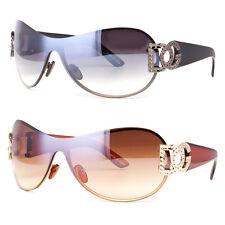 NWT DG Eyewear Womens Mens Shield Designer Sunglasses Shades Fashion Retro Wrap