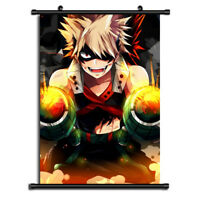 Boku no Hero Academia bakugo Anime Wall Art Home Decoration Scroll Poster