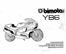 CATALOGO RICAMBI BIMOTA YB6 COPY SPARE PARTS CATALOGUE MULTILANGUAGES