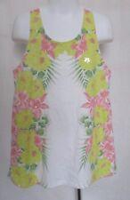 Girls (Size XL) GAP KIDS Multi-Color Floral Design Top