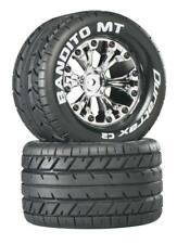 """NEW Duratrax Stampede / Rustler / Monster Jam Bandito 2.8"""" Mounted Tires / Wh..."""