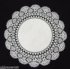 """100 - 10"""" White CAMBRIDGE LACE PAPER DOILIES for Parties Weddings Invitations"""