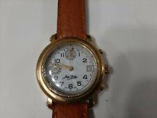 Jules Dolas orologio vintage cronografo chrono Valjoux 7765 carica manuale 36 mm