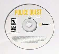 Sierra Police Quest Collection Step Behind the Badge PC WIN CD-ROM Game Disc