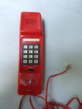 RETRO RED PHONE RADIO SHACK PUSH BUTONS  VINTAGE 70s