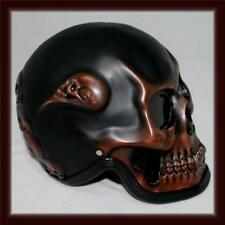 Motorcycle Helmet Skull Skeleton  Rim Reeper Ghost RIDER Full Face Airbrush
