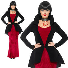 Regal Vampiress Costume Halloween Vampire Womens Ladies Adult Fancy Dress Outfit