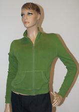 Street One Jacke Weste grün Langarm Damen Größe 34 (1510C-2)