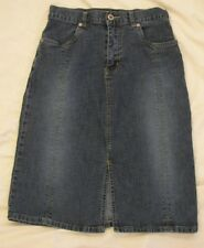 Women's Just Blu Stretch Denim Skirt - Size 4