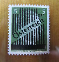 EBS Austria Österreich 1945 Provisionals (Hitler Obliterated) 668 Ia MNH**
