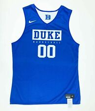 Nike Duke Blue Devils Basketball Reversible Jersey Men's Medium #00 Blue White