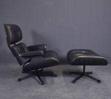 Charles Eames Lounge Chair Mit Ottoman Black Version Vitra