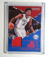2017 Panini Father's Day #BK4 Joel Embiid Jersey Patch Basketball Card 76ers