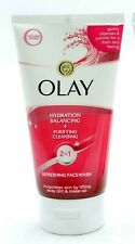 2 x Olay Refreshing Face Wash 150ml Each Hydration Balancing Purifying Cleansing