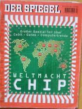 SPIEGEL 12/1998 Die Weltmacht Chip