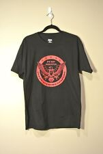 Round Pump Militia T-Shirt Black w/ Red