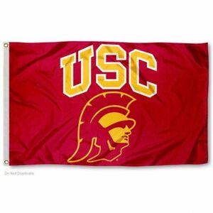 USC TROJANS 3'X5' NCAA FLAG BANNER: FAST FREE SHIPPING