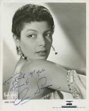 Amru SANI (Singer/Actress): Signed Photograph