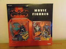 Batman & Robin 3 Movie Figures Set 1997 2 Batman &  1 Batgirl in 1 Package!!!!!!