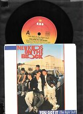 """New Kids On The Block - You Got It -1989 7"""" picture sleeve single 45rpm"""