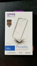 New Gear4 D3O Piccadilly Clear/White Cover Case for Google Pixel 2