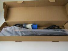 "Power Distribution Unit 8 Way 19"" Horizontal Rack Mount PDU with 16a commando"