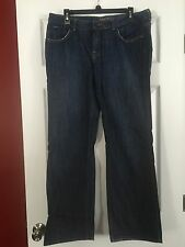 MUST SEE!! BITTEN by SARAH JESSICA PARKER DARK BLUE BOOT CUT JEANS! SIZE 12R!!