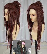 Mink_DMMD DRAMAtical Murder Red-brown mixed dreadlocks Cosplay Hair Wigs