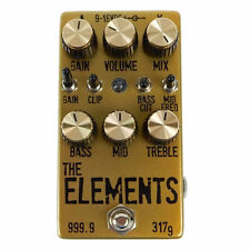 Dr. Scientist The Elements Pedal NEW GOLD BAR - AUTHORIZED DEALERS!