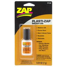 Plasti-ZAP CA Super Glue Medium Viscosity Brush-On for Plastics (7g) PT102
