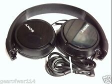 Sony Genuine MDR-ZX110 Stereo Over Ear Swivel Headphone Black MDRZX110