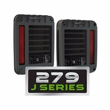 JW Speaker Model 279 J Series LED Tail Lights Jeep Wrangler JK 2007-2016
